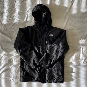 Boy's The North Face Large Black Insulated Jacket